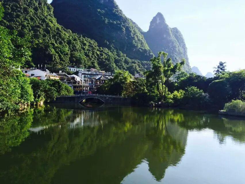山水爱情,最美桂林行图片
