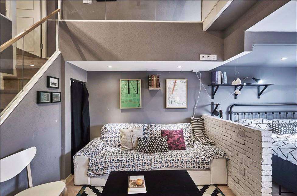 卓小花城西loft独立卧室步行至银泰商圈近西湖