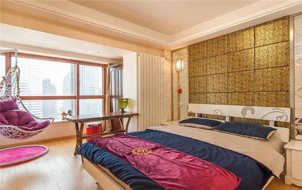 天津站旁看海河全景精装大床房 1931