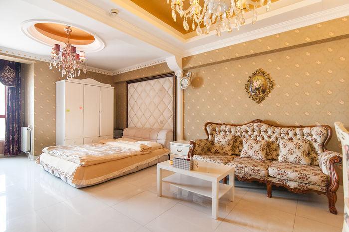 意大利风情旅游区欧式装修高区一居室3634