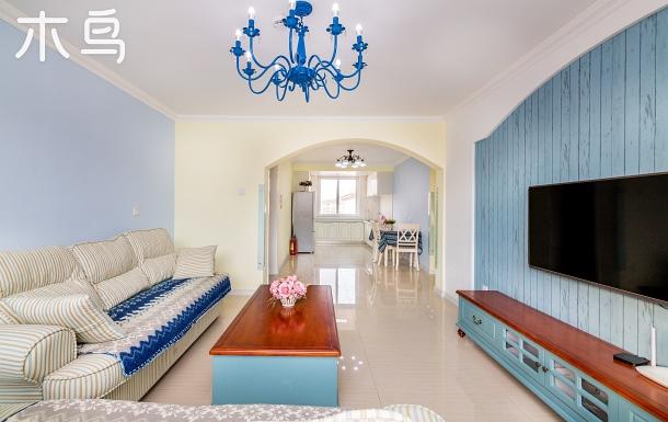 北戴河琴海公寓溫馨兩臥室套房