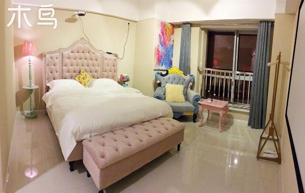 One+輕奢觀影公寓(北站華府)糖果