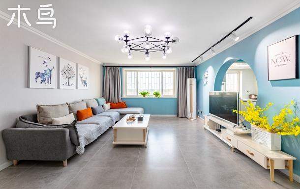 昌黎黃金海岸阿那亞附近三室兩廳北歐風情家庭房(可免費停車)