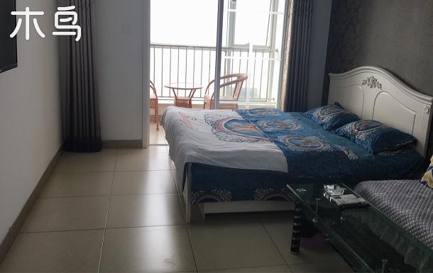 昌黎近黃金海岸 阿那亞 漁島一居兩床四人家庭房