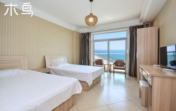 【靜逸時光】海景上午雙床房