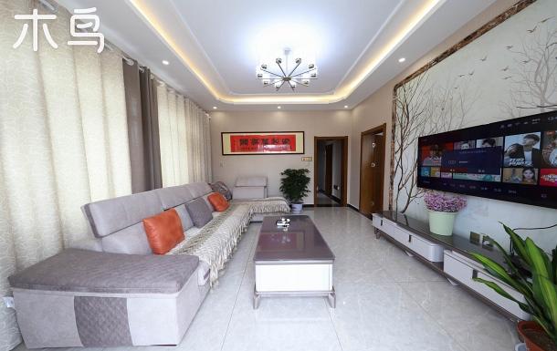蔚藍庭院舒適大床大三居室可做飯整租