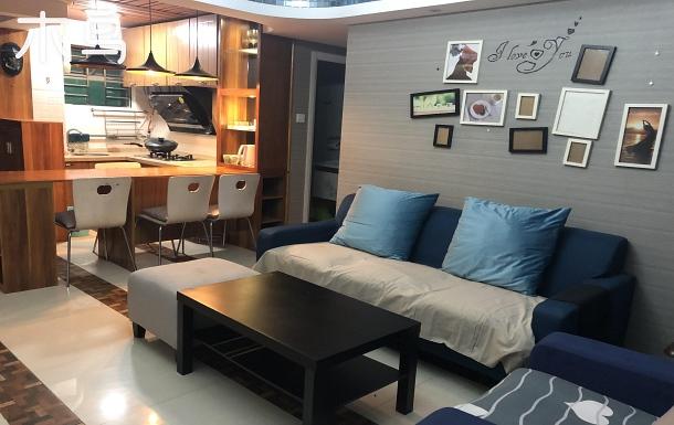 前海/深圳灣/南山公園復式三臥室公寓廚房
