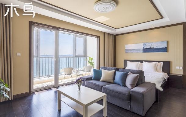 高層北歐性冷淡風海景公寓/劉公島