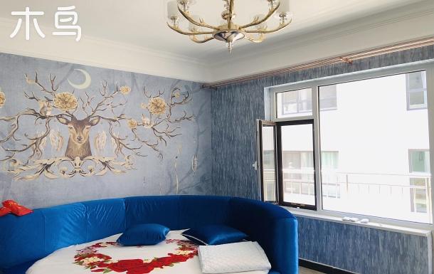 北戴河刘庄近海近夜市豪华主题两室公寓