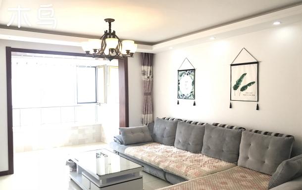 親海不臨海+高層22樓2室一廳+2張1.8雙人大床+可做飯