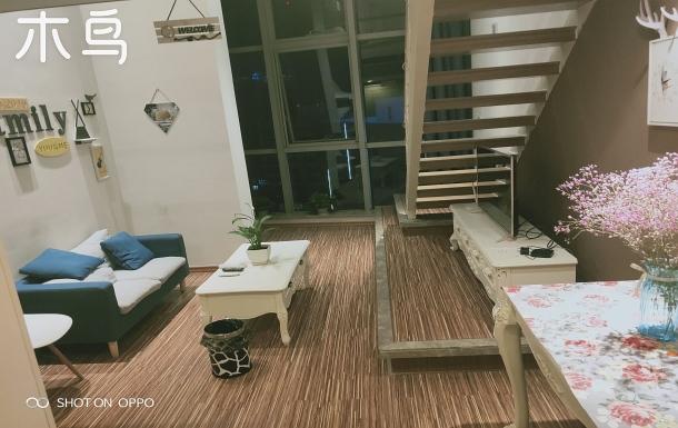 濱海高鐵站loft 風格一室一廳一廚一衛
