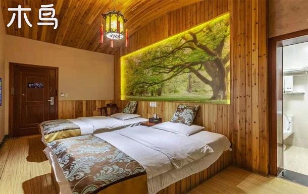 西塘景區內悅庭雙床房