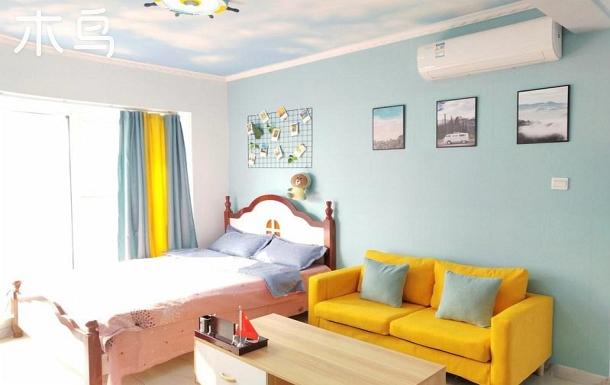 萬平口風景區 海洋公園 簡約兩居公寓三床