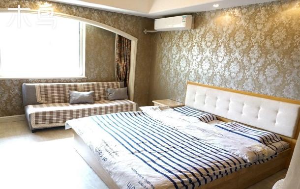 阿爾卡迪亞精品公寓雙大床四人間