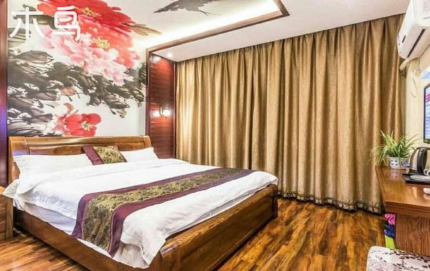 烏鎮景區周邊花開富貴大床房