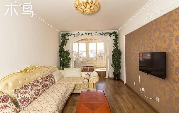 北戴河臨海精裝修家庭公寓  兩室兩廳短租日租