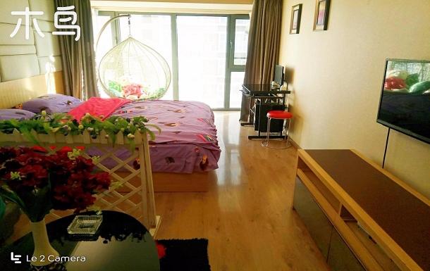 天潤廣場/東中街地鐵站旁 大床房