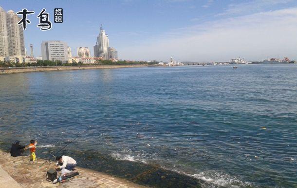 火车站栈桥海边垂钓两室两厅海景豪宅-青岛市南区