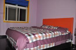 温馨浪漫的爱情公寓大床房