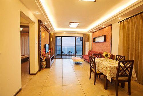 大东海 兰海花园 豪华海景 两房两厅