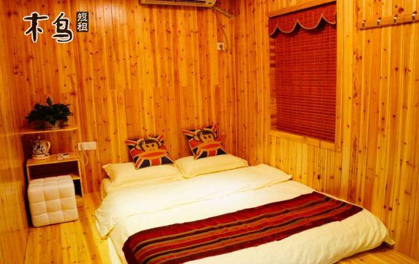 温馨的房屋设计,大圆床,小木屋等7种主题房间.