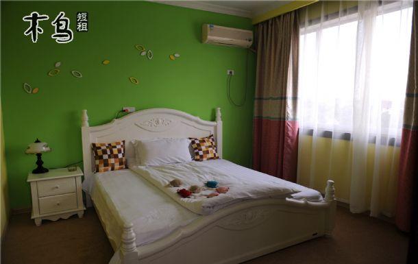 欧式卧室墙纸高清贴图淡绿色