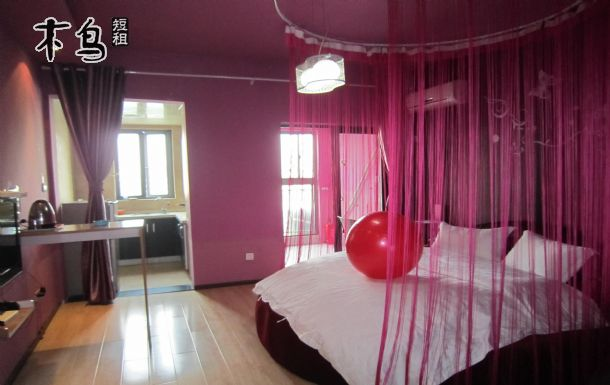 圓形床臥室效果圖夫妻房間