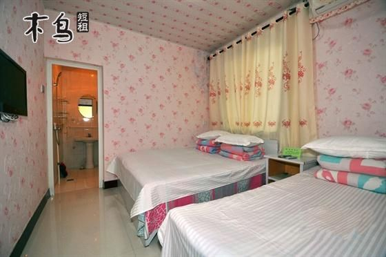 烟台长岛县海水浴场林海公园烽山景区附近