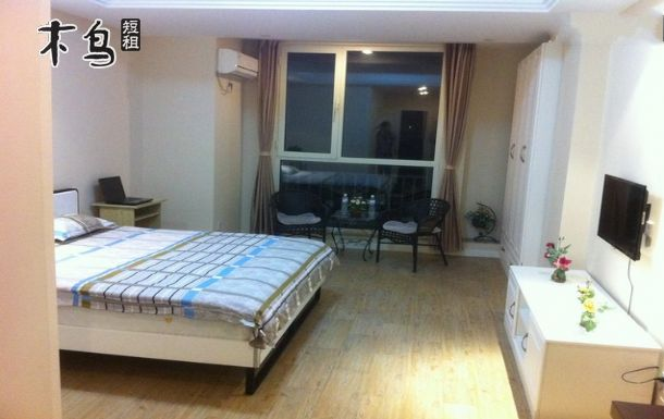 机场附近-鲁邦国际风情街高档公寓大床房-青岛城阳区