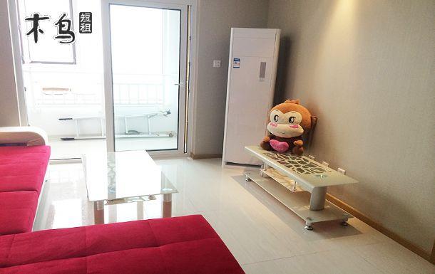 青岛火车站栈桥金茂湾海景一居室-青岛市南区日租-木