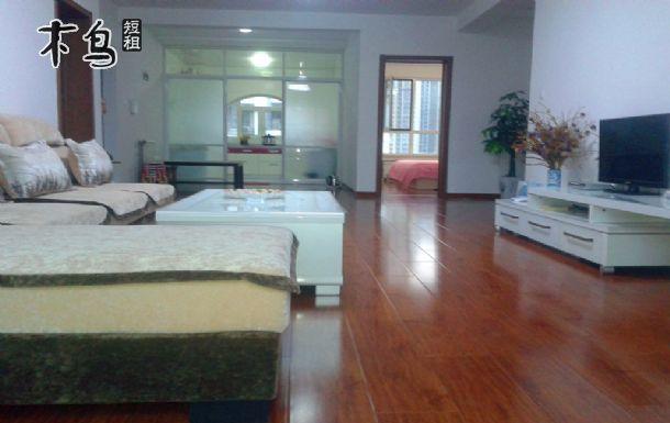 青岛金沙滩景区三室二厅温馨海景房