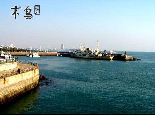 青岛栈桥火车站中山路八大峡广场公寓