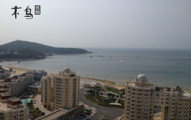威海看海!高区海水浴场高层海景房绝美3卧哈工大23层