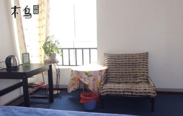 天津田园风家时代家庭旅馆均有外窗安静温馨舒适卫生