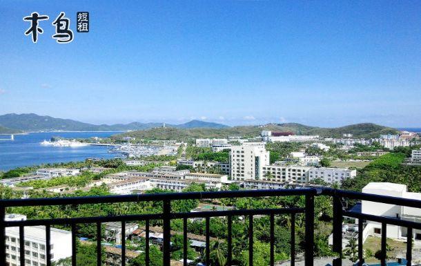 三亚大东海风景区海水浴场附近紧邻海边高级林景房
