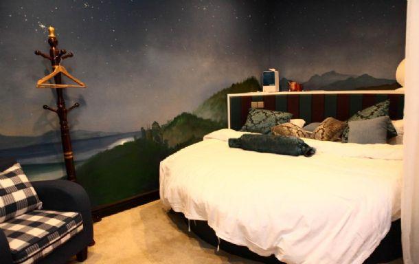 明湖西路北坦大街旁主题公寓梦幻星辰