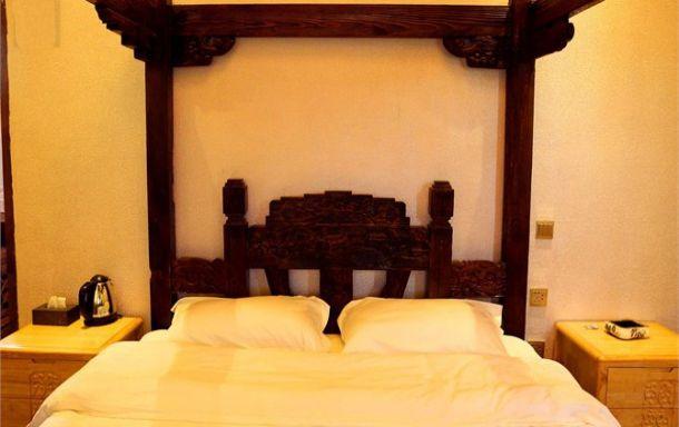 大水车 狮子山万古楼景区 中式豪华大床房