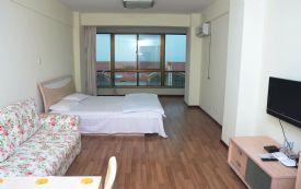 海水浴场 一线海景房 一室一厅