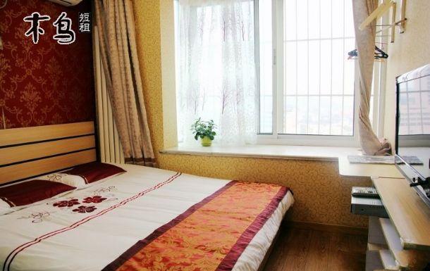 青岛栈桥如意家园观海公寓 舒适观海大床房