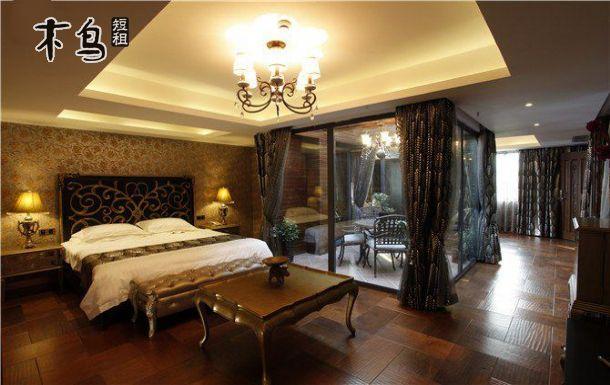 一室 | 整租 | 可住2人立即预订 杭州下沙waking别墅轰趴豪华欧式多人