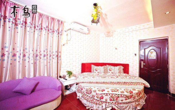 厦门环岛路风景区知了睡了海边民宿客栈浪漫情侣圆床房