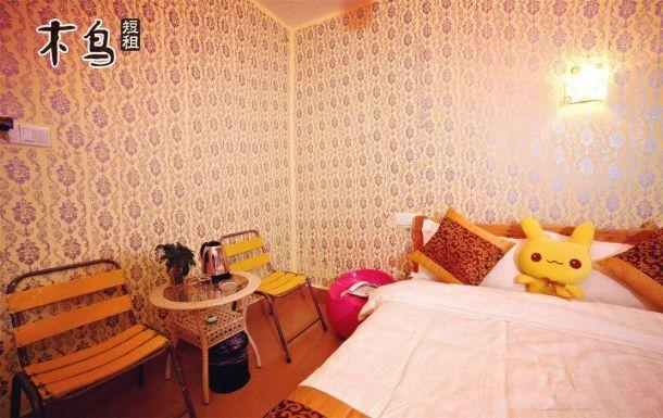 厦门环岛路风景区知了睡了海边民宿客栈欧式雅致大床房