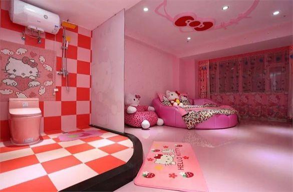 长春二道区红心国际广场附近 梦幻kitty房
