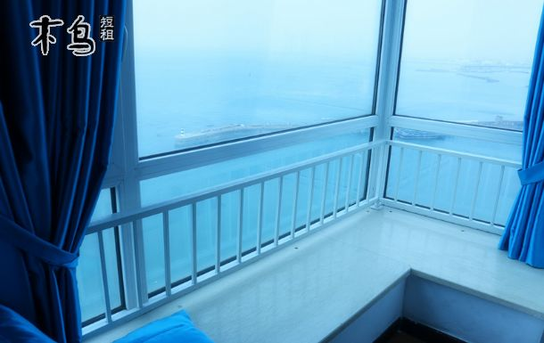 青岛火车站栈桥豪华海景6人间