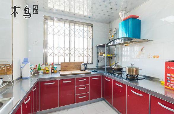 西安毗邻青龙寺大雁塔曲江池带空调厨房三室图片