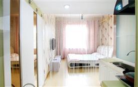 威海千富公寓市景大床房