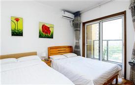 金沙滩景区 温馨一室双床标准...