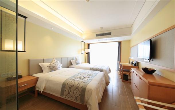 大亚湾海景度假区 海景酒店公寓双床房