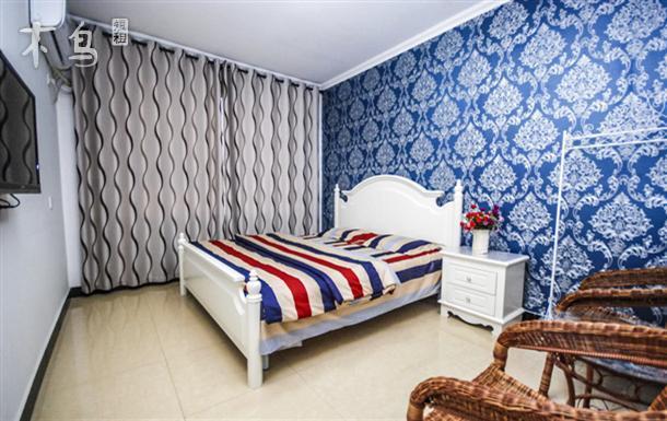 家庭房 一室 | 整租 | 可住3人立即预订 北戴河海边最温馨的旅馆 一室