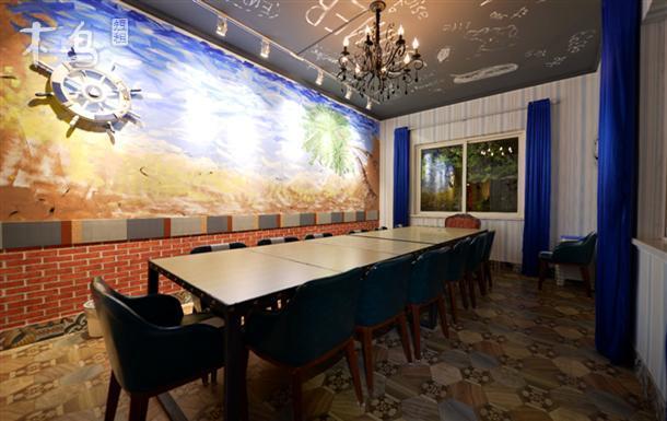 青岛崂山区|山海边绿谷聚会别墅—地中海风格
